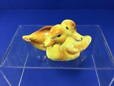 Vintage Goebel,  Pair Of Ceramic Ducks Figurines, Germany TMK-5 1972