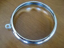 VINTAGE BMW CHROME TAIL LIGHT RING FITS COFFEE CAN  BMW R50-R69S AND R26 R27
