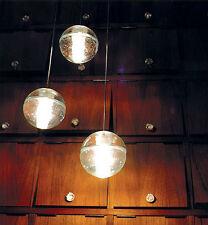 Bocce Ball LED Glass Pendant Light inc 1.5W LED Lamp & LED Driver