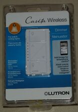 Lutron - Caseta Wireless In-Wall Dimmer -PD-6WCL-WH-R -WHITE-BRAND NEW IN BOX