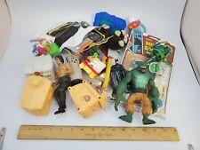Bottom of the vintage toy box lot - batman/happy meal/rambo/flintstones/mr smith