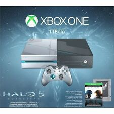 Microsoft Xbox One Halo 5: Guardians Limited Edition 1TB Black & Silver Console
