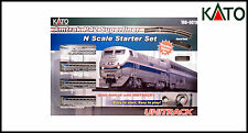 KATO Amtrak P42 & 3 X Superliner Coaches - N Scale Unitrack Starter Set -