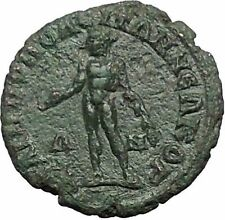 ELAGABALUS 218AD Philippopolis Thrace APOLLO Neocorate GAMES Roman Coin i54762