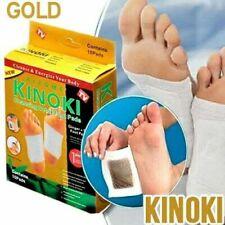 10 Stück KINOKI GOLD Bambuspflaster Vitalpflaster Fußpflaster Fußpads Bambus