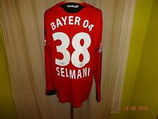 Bayer 04 Leverkusen ADIDAS Manica Lunga Maglia Matchworn 08/09 + N. 38 Selmani Taglia XL