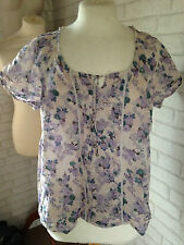 Marks and Spencer Floral Boat Neck Other Women's Tops