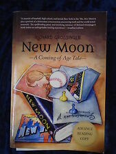 NEW MOON by RICHARD GROSSINGER - NORTH ATLANTIC 2016 -  P/B *PROOF*UK POST £3.25