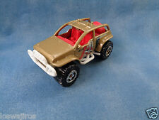 "Matchbox Mattel ""Jungle Recon"" 4 x 4 2002 Dune Buggy Gold / Red Interior"