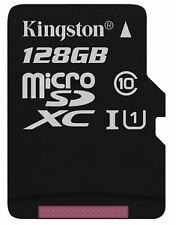 Kingston MICROSDXC CLASS 10 UHS-I CARD - 128 GB