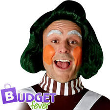 Oompa Loompa Adults Wig Fancy Dress Roald Dahl Story Book Day Costume Accessory