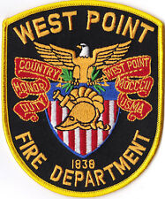 West Point Fire Dept. Patch MA  Firefighter