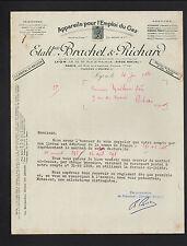 """LYON (69) USINE d'APPAREILS à GAZ """"C. ANDRE / BRACHET & RICHARD Succ"""" en 1950"""