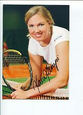 Kaia Kanepi Sexy Estonian Tennis Star Signed Autograph Photo