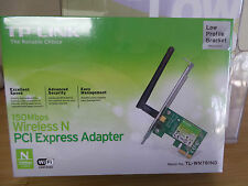 Wireless n network adapter 150Mbs PCI Express with Low Profile Bracket