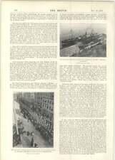 1899 Canadian Contingent Embark Sardinia Quebec Sir William Thomson