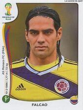 N°202 FALCAO # COLOMBIA STICKER PANINI WORLD CUP BRAZIL 2014