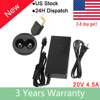For Lenovo ThinkPad T431s T440p T440s T450 T450s Ac Adapter Charger Cable 90W