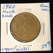 1960 Hong Kong $1 Coin