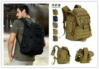 40L Outdoor Backpack Tactical  MOLLE Assault Pack Military Gear Rucksack