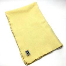 Vintage Kenwood Wool Products Ramcrest Blanket Slumber Baby Throw Small 28 X 42