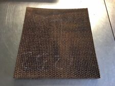 WOVEN BRAKE MATERIAL 3/4 thick 11 x 12 HIGH INDUSTRIAL FRICTION NONASBESTOS