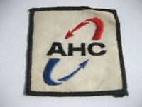 AHC EMBROIDERED SEW ON PATCH ADVERTISING UNIFORM HAT SHIRT JACKET COMPANY