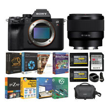 Sony Alpha a7R IV Full-Frame Mirrorless Camera with FE 50mm f/1.8 Lens Bundle