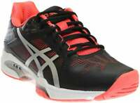 ASICS Gel-Solution Speed 3   Womens Tennis Sneakers Shoes Casual   - Black -