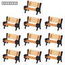 YZ150 10pcs Model Train 1:150 bench chair settee N Z Scale
