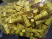 (100 pc) P11 Yellow Winged Nut Screw On Wire Connectors Twist-On BAG