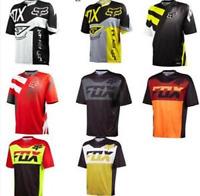2020 Racing Fox Jersey T-Shirt Men's Motocross/MX/ATV/BMX/MTB 8 Colors