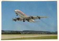 Cartolina Aereo - Start Einer Swissair DC8