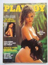 Playboy - D 11/1991, La Toya Jackson, Charlie Watts, Eddie Murphy, Bianca Beier