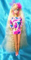NEAT! TOTALLY HAIR BARBIE Loose Doll Vintage 1991 Blonde Mattel