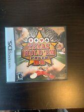 Texas Hold 'em Poker DS (Nintendo DS, 2005)