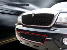For 2003-2005 Lincoln Aviator Black Bumper Vertical Billet Grille Fedar(Fits: Lincoln Aviator)