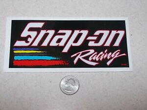 Snap On Racing - decal/sticker