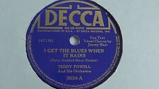 Teddy Powell– 78rpm single 10-inch –Decca #3034