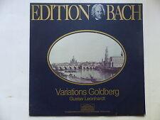 Edition BACH Variations Goldberg GUSTAV LEONHARDT PARNASS 66 319 5