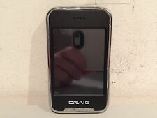 CRAIG CMP621F 4GB MP3 PLUS VIDEO PLAYER WITH 2.8 INCH SCREEN NOV 2010 WORKS GOOD