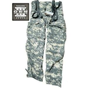 Military Issued ACU Soft Shell Cold Weather Wind Trousers-NEW