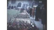 Standard 8mm Film Remembrance Sunday, Queen Mother, Funeral Flowers 1970's (JJ7)