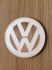 VW Wooden coaster, Gift,