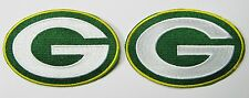 (1) LOT OF (2) NEW NFL GREEN BAY PACKERS EMBROIDERED PATCHES ITEM # 09