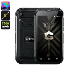 "Geotel G1 Smartphone Rugged IP68 Android 7.0 3G Quad-Core 5"" HD 2GB+16GB 7500mAh"