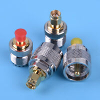 4pcs UHF PL259 SO239 to SMA Male Female RF Connector Coax Coaxial Adapter