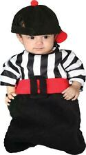 INFANT BUNTING EMPIRE REFEREE SPORTS COSTUME WITH HAT CS10953