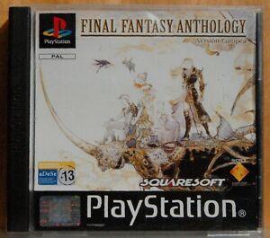 Final Fantasy Anthology solo cd ff IV - Playstation 1- Pal Esp