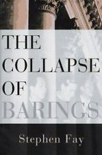 The Collapse of Barings, Fay, Stephen, Good Book